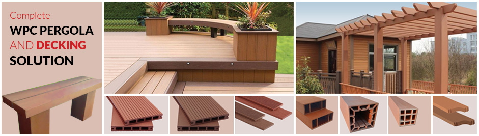 MIH WPC Decking & Pergola Products
