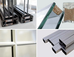 Double Glazing Materials