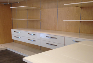 Walk-in Wardrobe & System Panel