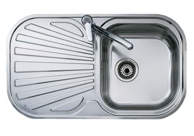 Teka Sink STYLO 1B 1D Angular Sink 830 X 485 Mm