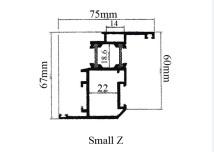 Aluminium Profiles Hinges / Sliding Thermal Break - MIH