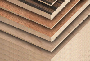Veneered MDF Sheets <br /> & Ply Wood