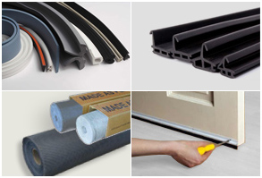 PVC EPDM, Gass Kit Brushes & Fly Screens
