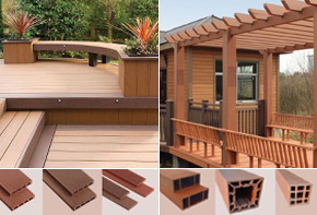 WPC Decking & Pergola Products