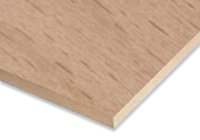 Beech Veneered MDF Sheet 18 mm Both-sided
