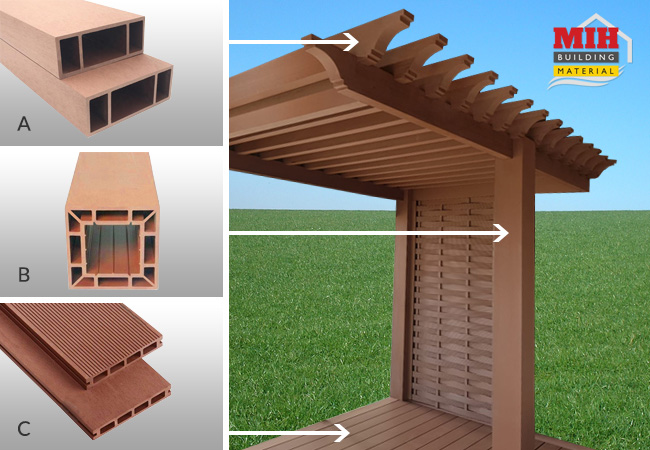 WPC Pergola Making Services
