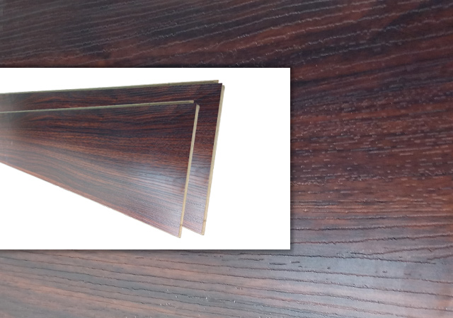 Walnut Laminated  Wooden Floor Tile