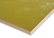 Green Mosaic 3D Touch  Melamine MDF Sheet