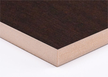 Dark Walnut  Melamine MDF Board