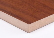 Walnut  Melamine MDF Board