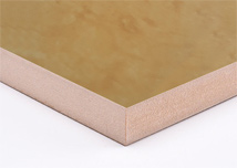 Bird Eye Maple  Melamine MDF Board