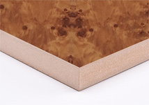 Burl Magic  Melamine MDF Board