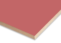 Dark Pink  Melamine Faced MDF
