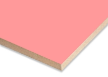 Light Pink  Melamine Faced MDF