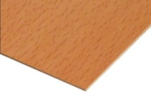 Beech Paper Overlay MDF Sheets