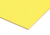 Light Yellow Paper Overlay MDF Sheets