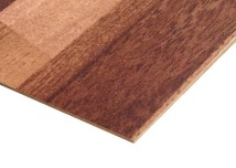 Teak Blocks Paper Overlay MDF Sheets
