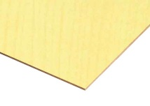 Nat Maple Paper Overlay MDF Sheets