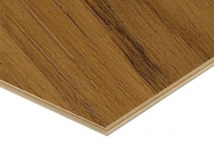 Teak Veneered Plywood 3.6mm Thickness