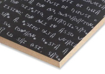 Black Text 3D Touch  Melamine MDF Sheet