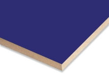 Blue  Melamine Faced MDF