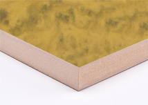 Light Burl Magic  Melamine MDF Board