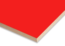 Red  Melamine Faced MDF