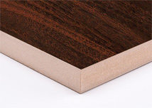 Rich Walnut  Melamine MDF Board