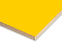 Yellow  Melamine Faced MDF