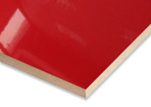 Red Laminated MDF Board